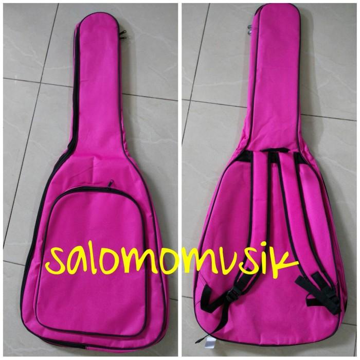 harga Softcase / tas gitar universal warna pink Tokopedia.com