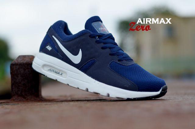 Best Selling Sepatu Pria Sneakers Casual Nike Airmax Zero Import