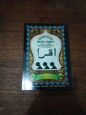 IQRA Kecil (Buku Belajar Membaca Al-Qur'an jilid 1-6)