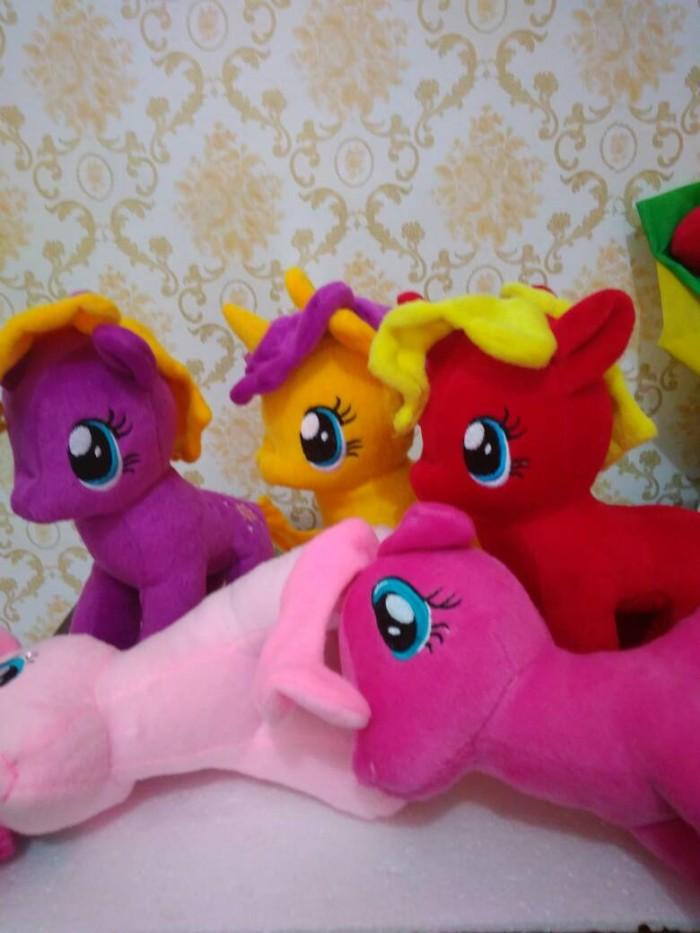 Jual boneka my little pony boneka kuda poni kuning Harga MURAH ... 08a3ca0731