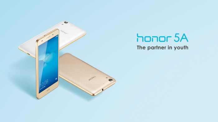 HUAWEI HONOR 5A WHITE 4G [RAM 2/16GB] GARANSI 1 TAHUN