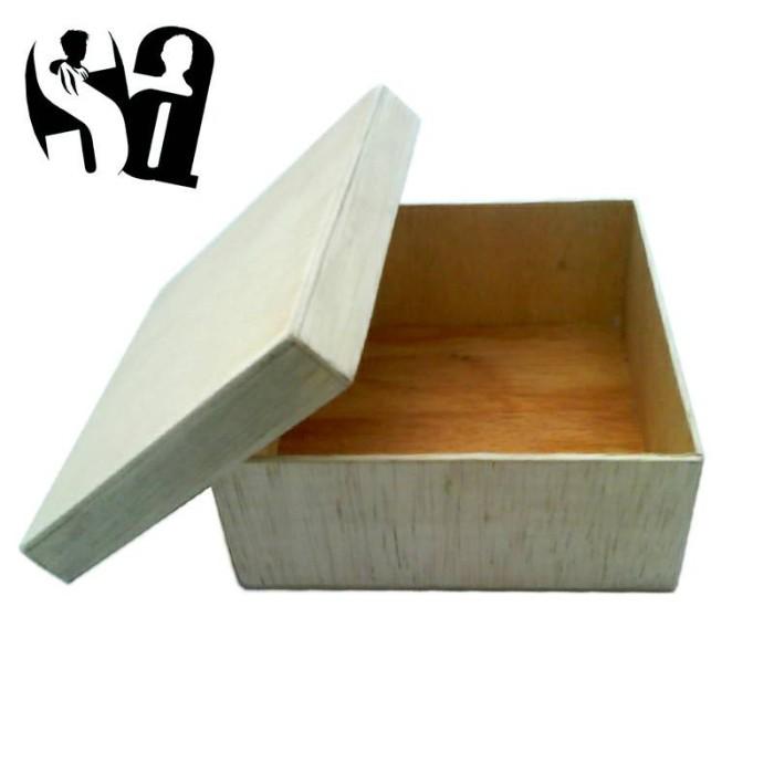 harga Kotak Souvenir/kado Kayu Klasik Medium Tokopedia.com