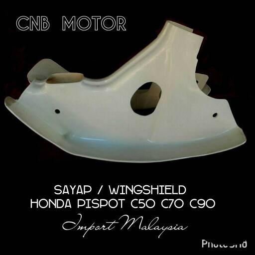 harga Sayap / wingshield / eblek - eblek pispot c50 c70 c90 import malaysia Tokopedia.com