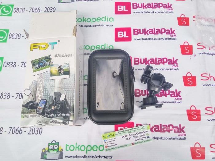 harga Holder tempat sarung hp gps motor sepeda spion anti air waterproff Tokopedia.com