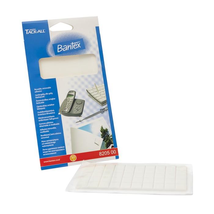 bantex tack all sticky stuff precut 50 gr #8205 00