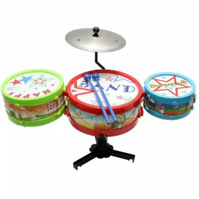 harga Mainan Anak Mini Drum Set Tokopedia.com