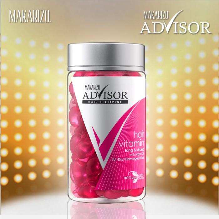 Makarizo Advisor Hair Recovery Vitamin Rambut Kapsul 1 Ml X 50 Source · 1 mL Makarizo