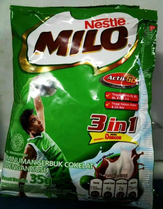 Susu Milo 3in1/Sachet