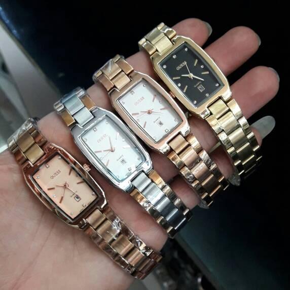Foto Produk Jam Tangan Wanita Guess Rantai Stainlis Diamond_4 pilihan warna dari Tick-Tock Shop