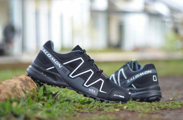 Jual sepatu sport pria hiking tracking running sepatu salomon pria ... ea47944ae3