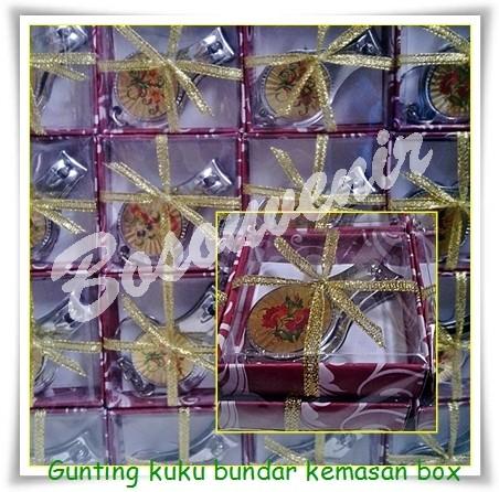 Foto Produk souvenir penikahan, gunting kuku bulat mika dari Souvenir Pernikahan 2