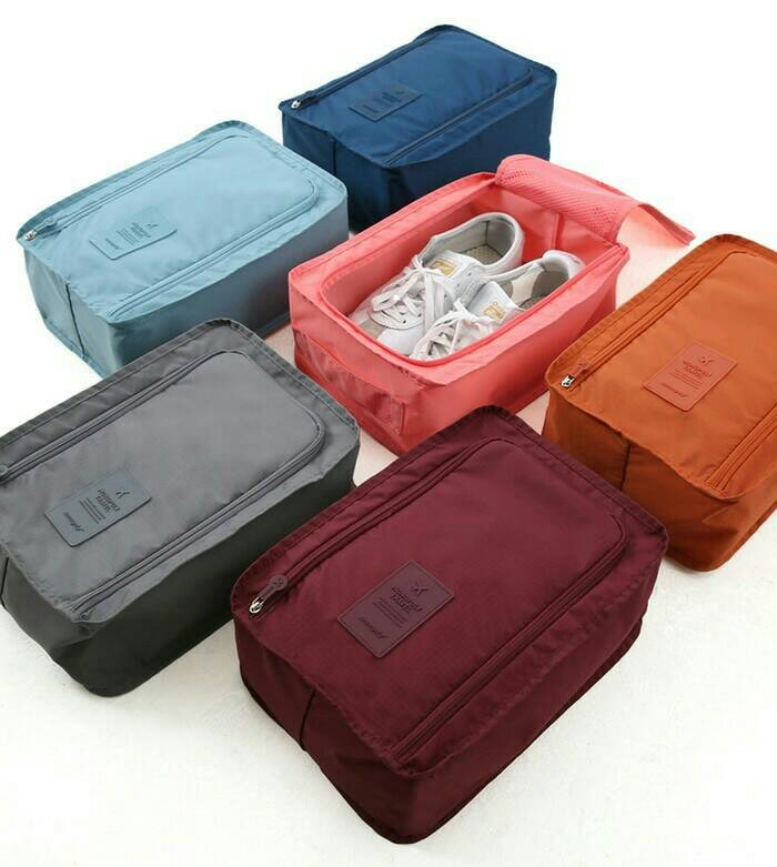 ... Korean Shoes Pouch, Travelling organizer, Tempat Sepatu, Tas Sepatu ...