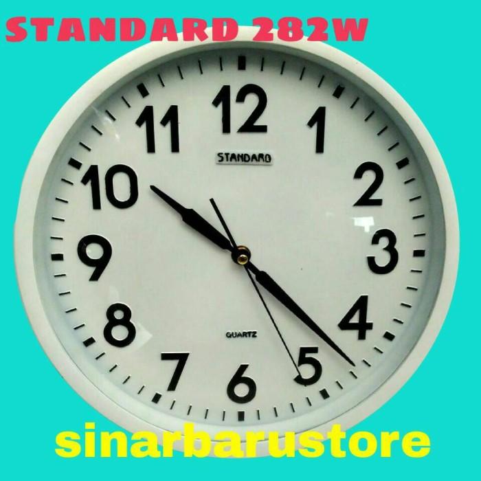 Jam dinding standard 282w diameter 30 cm