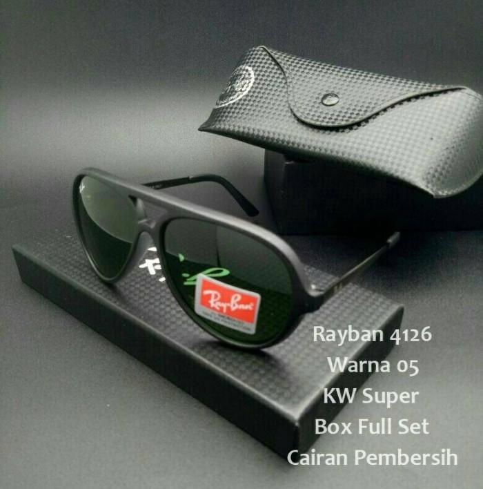 ... harga Kaca mata wanita dan pria rb 4126 aviator super full set  Tokopedia.com fe46ddaf31