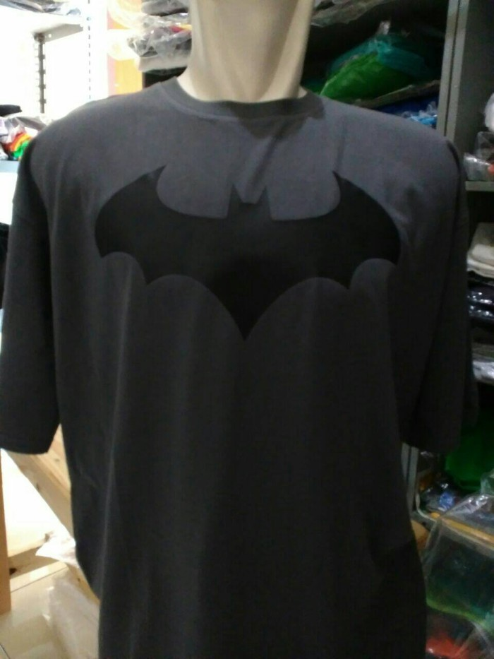 Kaos big size batman/baju batman size jumbo (xxl-xxxl-xxxxl)