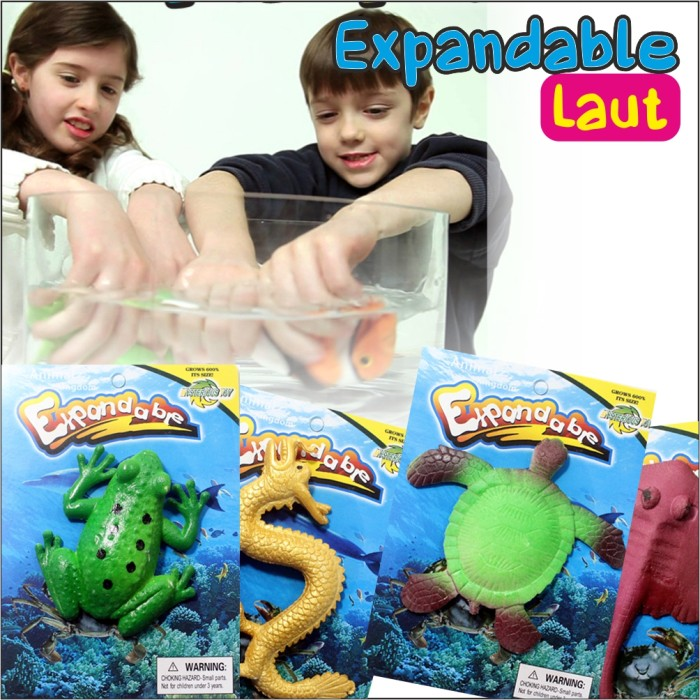 harga Expandable growing water animal mainan(binatang laut/darat bsr) Tokopedia.com