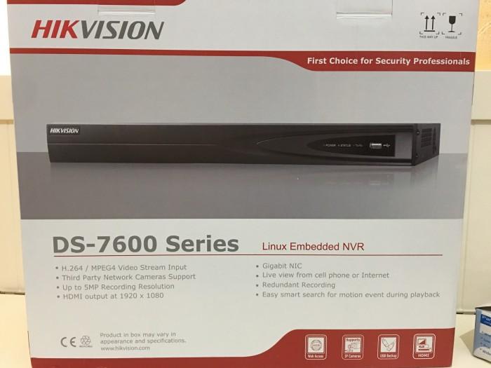 harga Nvr hikvision 16ch ds-7616ni-e2 Tokopedia.com