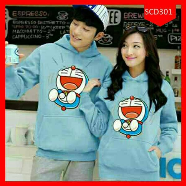 harga Jaket / sweater hoodie couple doraemon laugh terbaru Tokopedia.com