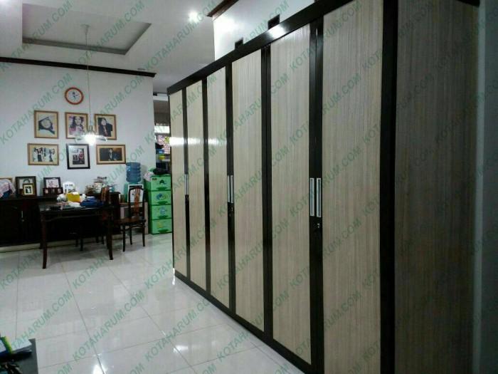 harga Lemari pakaian / baju 2 pintu 3 pintu custom made bandung jakarta Tokopedia.com