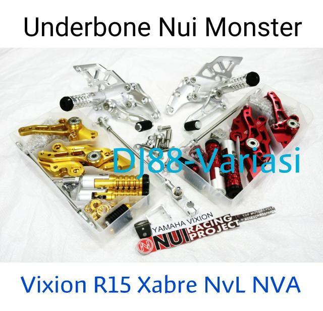 harga Footstep underbone nui monster yamaha r15 xabre new vixion lightning n Tokopedia.com