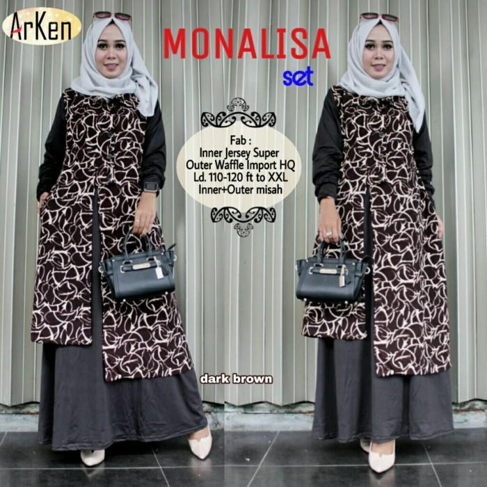 Ag Apparel Andika Tunik Dress Muslimah Hijab Muslim Gamis Syari Baju ... ad7c6a88a1