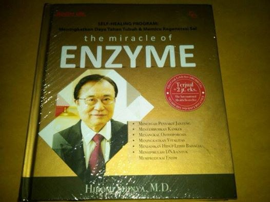 harga The miracle of enzyme-dr. hiromi shinya Tokopedia.com