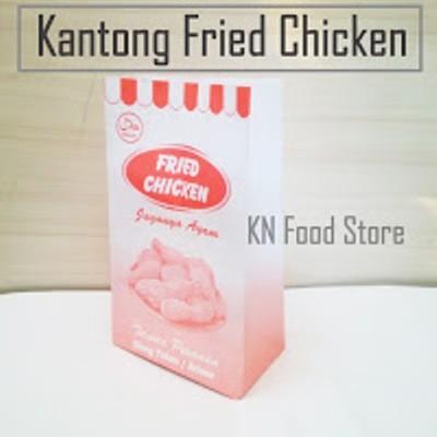 Paper Bag - Kantong Burger - Kantong Kertas- kantong Fried Chicken