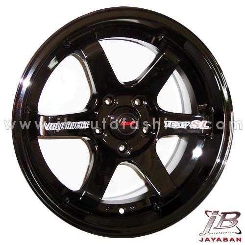 harga Velg Racing Ring 18 Inch Rep. Te37 Sl Untuk Mobil Pcd 5x114.3 Tokopedia.com