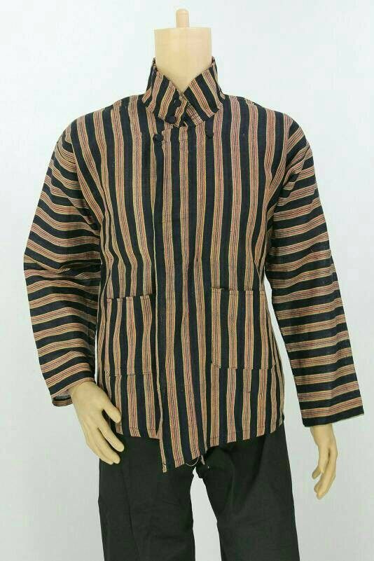 88 Contoh Baju Batik Lurik Paling Unik