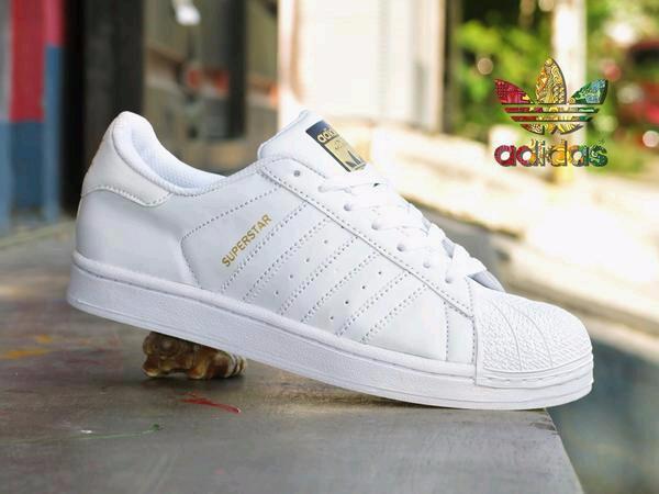 Jual sepatu Sepatu Adidas Superstar Full White Putih Grade Original KW f67a23dff3