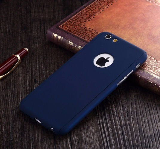 ... Hardcase Case 360 Iphone 6 / 6s Casing Free Tempered Glass Cover ...