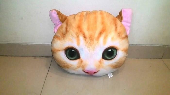 Jual Bantal Kucing Oren Kota Bekasi Husna Squishy Shop Tokopedia