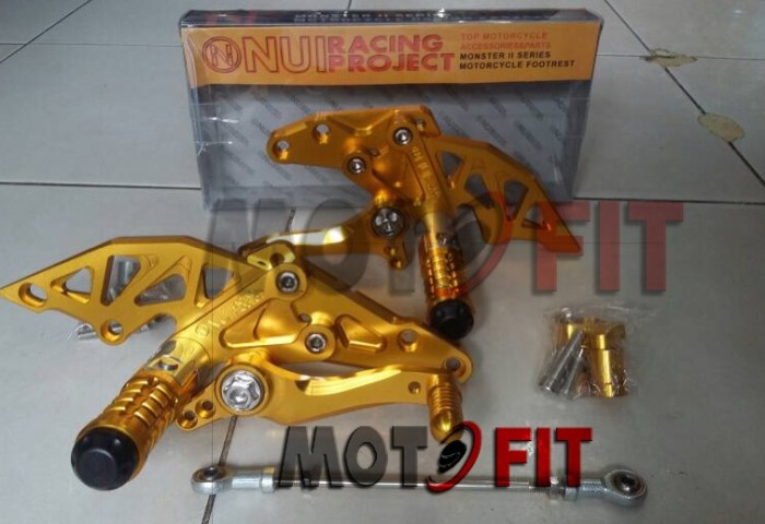 harga Footstep underbone nui monster r15/vixion/new lighning/new advance| Tokopedia.com