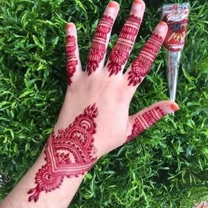 Jual Box Isi 12 Cherry Golecha Cone Henna Paste Henna Art Laci