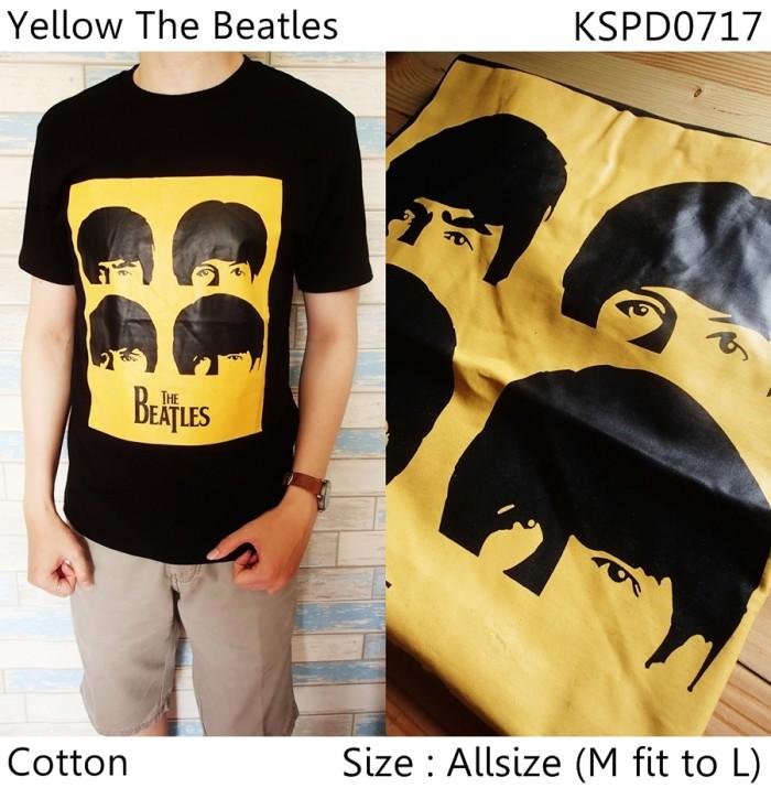 harga Kaos lengan pendek distro classic model yellow the beatles - 717 Tokopedia.com