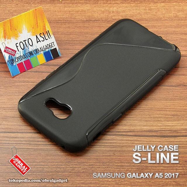 size 40 f52e6 84e2a Jual Soft Jelly Case Samsung Galaxy A5 2017 Silicon Silikon Softcase Casing  - Jakarta Barat - Obral Gadget | Tokopedia