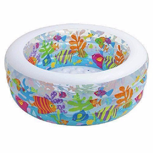 Kolam renang anak aquarium swimming pool 1.52mx56cm - intex