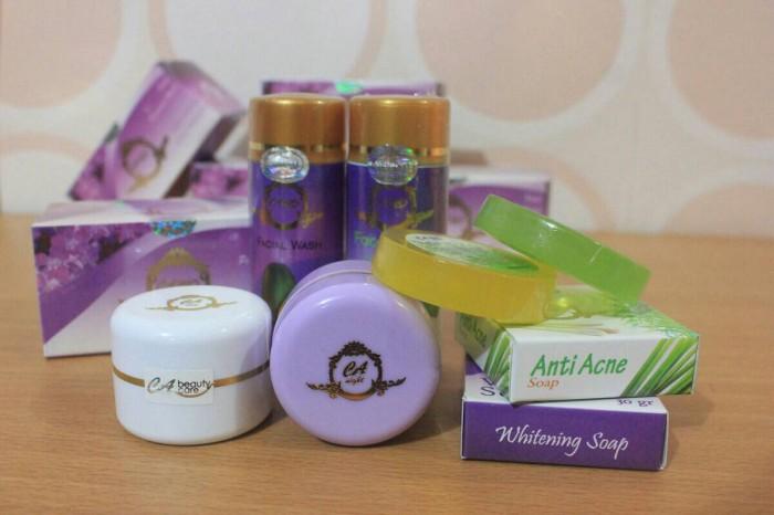 Cream ca paket lengkap acne i bpom original asli