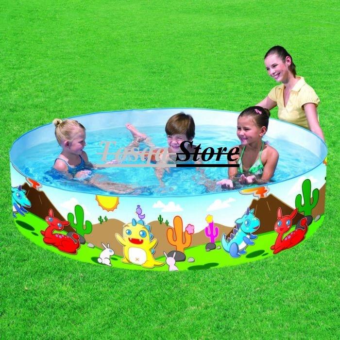 Kolam tanpa dipompa karakter nemo bestway / kolam karet