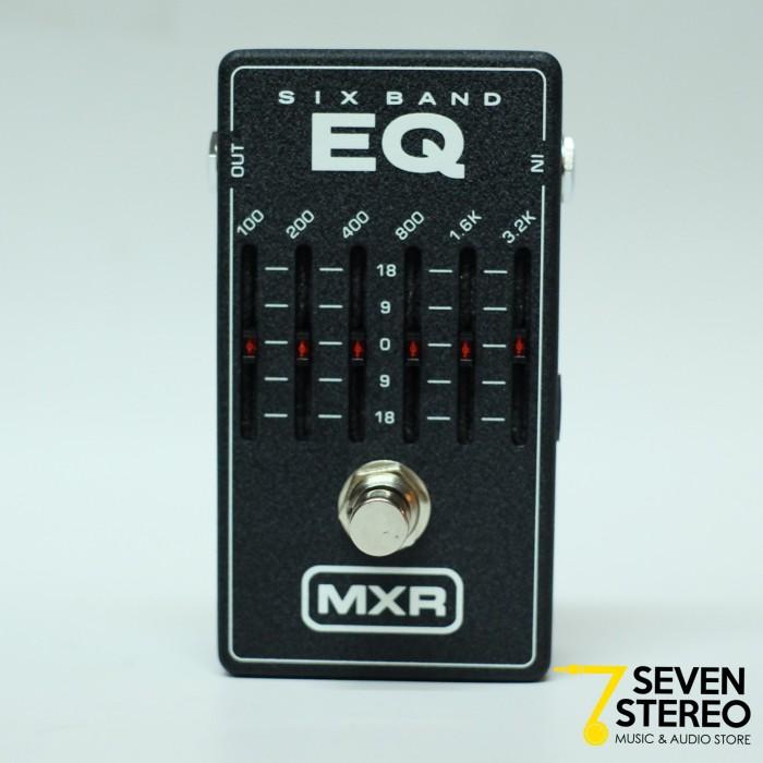 harga Mxr m-109 six band eq graphic equalizer effect pedal Tokopedia.com
