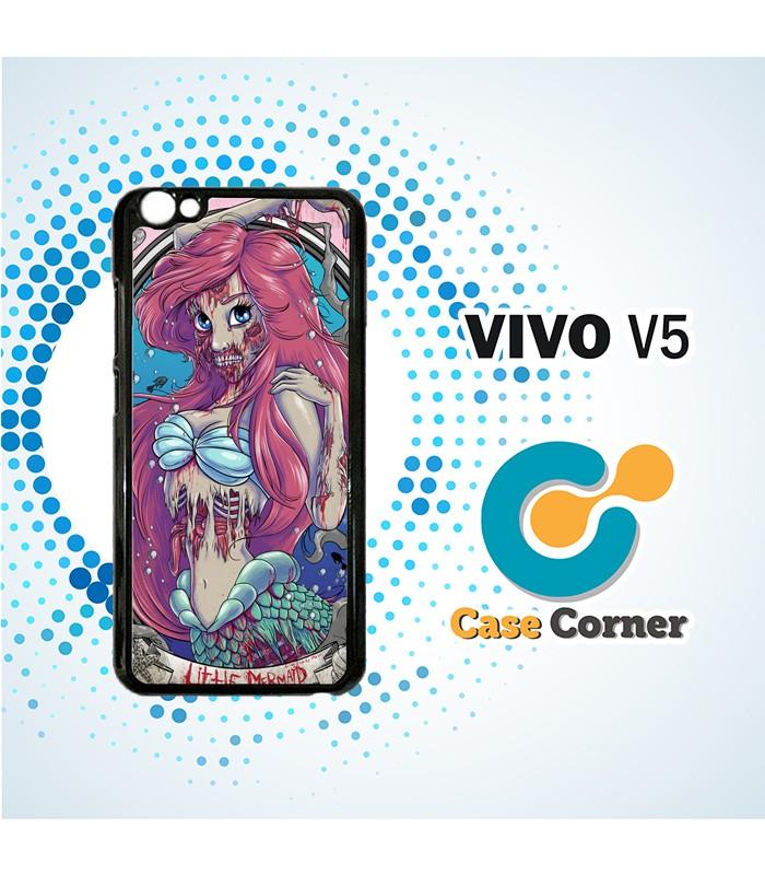 Custom Casing HP Vivo V5 Disney Princess Zombies Case, Cover, Hardcase