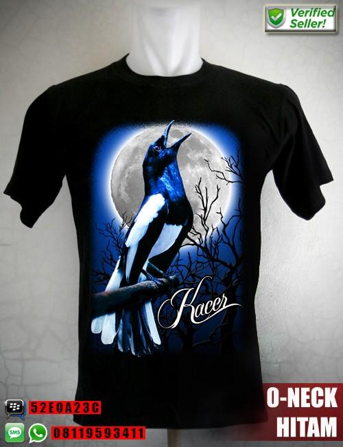 harga Kaos Burung Kacer Full Moon Tokopedia.com