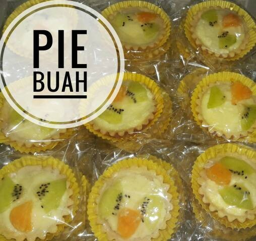 Pie Buah Kue Basah Snack Box Murah