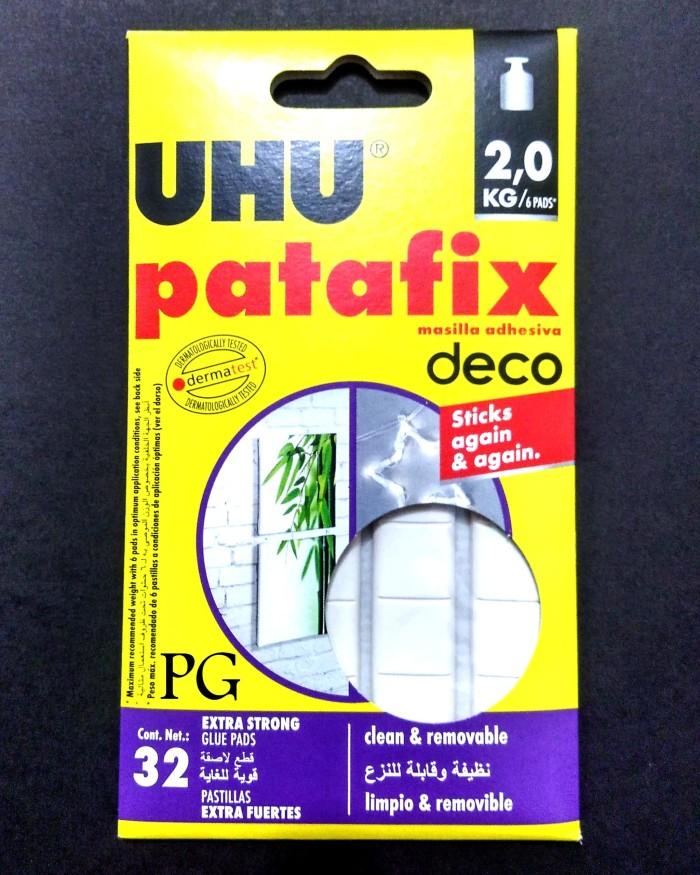 harga Uhu patafix 32 / white tack it / glue pads / lem deco Tokopedia.com