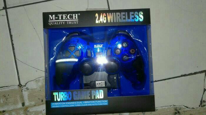 Foto Produk Stick PS/Gamepad Wireless Turbo M-Tech dari Sistem comp
