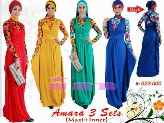 Miracle Rok Panjang Amara Maxi Jeans Payung Wanita. Rp 69.538. Rp 181.800. Banten. Lihat Detil · PHM 017 Amara Maxi Dress