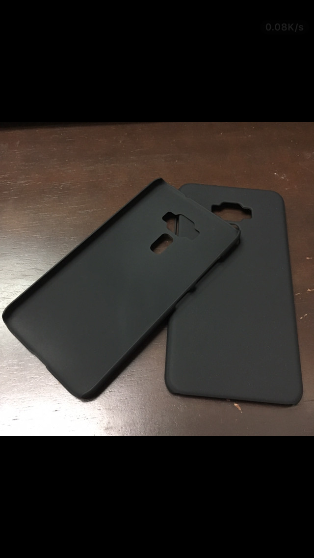 harga Zenfone 3 5.2 /5.5  hard case hitam black doff nillkin casing bumper Tokopedia.com