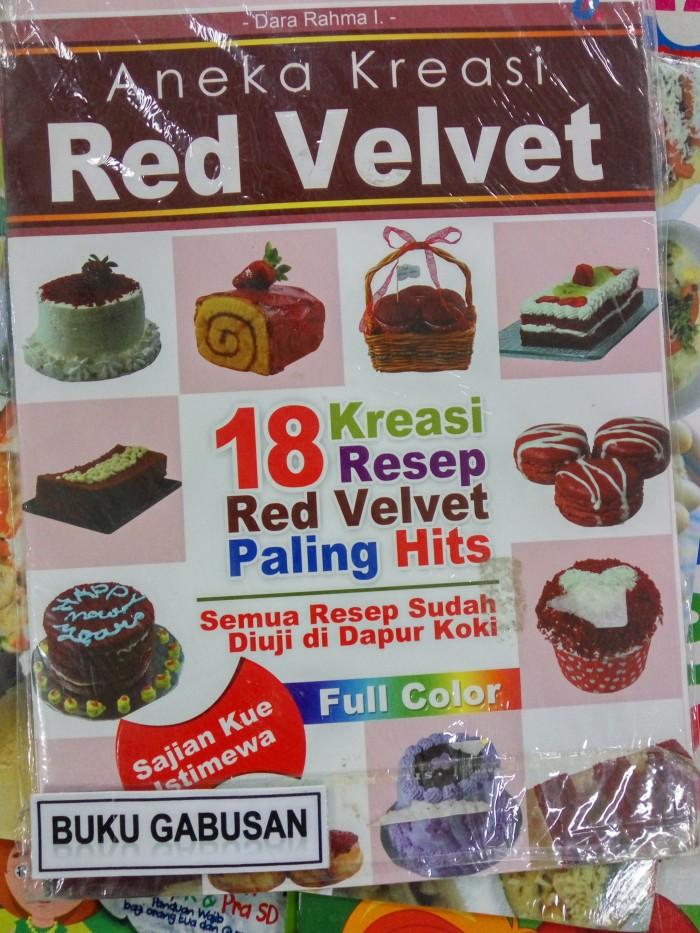 harga Buku aneka kreasi red velvet / dunia kreasi ar Tokopedia.com