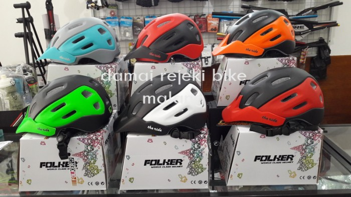 harga Helm mtb / am folker the ride Tokopedia.com