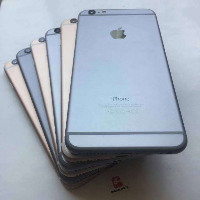 Jual iphone 6plus 16gb second (iphone6 plus bekas) ex usa ipon 6 -  braderparts - OS  a27dfea9ae